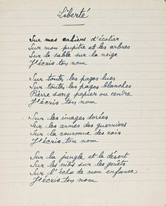 There's no better way to celebrate La Fête Nationale than through the words of Paul Eluard