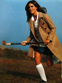 Prep World | The official Tommy Hilfiger Tumblr - The official preppy sport. Photo by Bruce Weber.