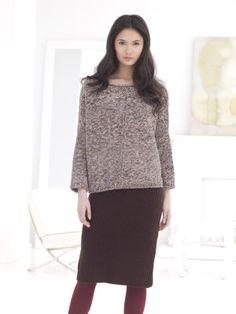 Perfect Pencil Skirt - Free Knitting Pattern