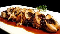Solomillo de cerdo relleno de ciruelas Pork Recipes, Cooking Recipes, Healthy Recipes, Recipies, Cooking Pork, Mexican Dishes, Mexican Food Recipes, Good Food, Yummy Food