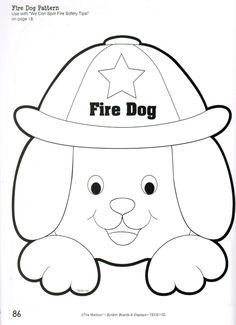 fire dog pattern