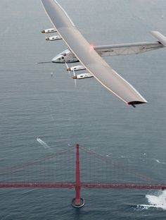 MOUNTAIN VIEW, Calif. (AP) — The two Swiss pilots taking turns to fly a solar-powered airplane around the world said Sunday the endeavor is not only a demonstration of the importance of renewable energy but also of the many challenges the human body can endure.