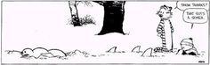 Calvin and Hobbes Winter Wonderland
