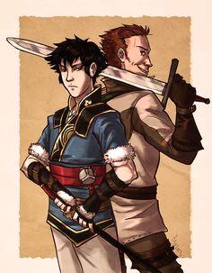 Lon'qu and Gregor by Monkanponk on DeviantArt