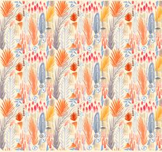 Take a look in your sketchbook for inspiration to create your own digital pattern which can be used in a myriad of ways. Turn it into wallpaper for your phone or computer monitor, print it on paper to use as card making elements, or you can even have your artwork printed on fabric through a professional service like Spoonflower.
