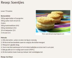 Rainbow Gospel Radio | Soentjies Diet Recipes, Recipies, Cooking Recipes, Atkins Diet, Cake Cookies, Kos, Biscuits, Cupcake, Deserts