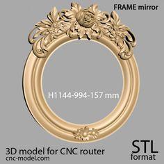Cnc Router, 3d Printing, Frames, Mirror, Design, Cnc Milling Machine, Impression 3d, Frame, Mirrors