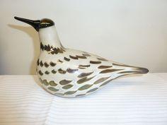 Iittala Nuutajärvi Oiva Toikka Bird COMMON SNIPE RARE