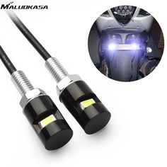 """Universe of goods - Buy Car Motorcycle Tail Number License Plate lamp Screw Bolt Light White LED SMD 5630 Universal Auto Light Accessories"""" for only USD. Motorcycle Lights, Motorcycle License, Auto Styling, 12v Led, Lamp Bulb, White Lead, Car Lights, Motorcycle Accessories, Tail Light"""
