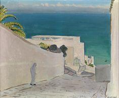 Albert Marquet (French, 1875 - 1947) -Sidi Bou Saïd, N/Doil on canvas