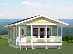 18x30 House -- #18X30H2G -- 540 sq ft