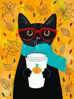 Caffe' con gatto