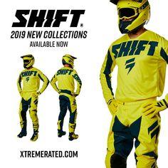 2019 Shift Whit3 Label Muse Men/'s Adult MX Jersey Smoke Motocross Off-Road MTB