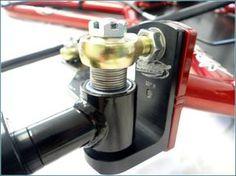 Ultralight Rev-Tri-Go-Kart build - Page 2 - DIY Go Kart Forum Build A Go Kart, Diy Go Kart, Go Karts, Karting, Go Kart Steering, Go Kart Plans, Radio Flyer Wagons, Solar Car, Mopar
