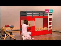 Paint your life - Letto camion dei pompieri - YouTube