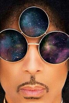 "Prince Rogers Nelson, ""Third Eye"" sunglasses."