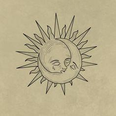 Bff Tattoos, Anime Tattoos, Future Tattoos, Small Tattoos, Tatoos, Drawings With Meaning, Sun Tattoo Designs, Dark Tattoo, Cute Art Styles