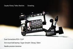 rotary tattoo machine Best Tattoo Machines, Rotary Tattoo Machine, Tattoo Equipment, Tattoo Supplies, Cool Tattoos, Piercings, Apocalypse, Tattoo Ideas, Tatuajes