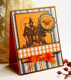Halloween Card Handmade Card  Greeting Card  I'm by CardInspired