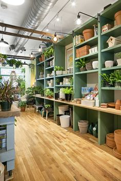 Flower Shop Decor, Flower Shop Design, Flower Shop Interiors, Store Interiors, Gift Shop Interiors, Gift Shop Displays, Garden Center Displays, Eco Store, Shop Interior Design