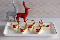 Christmas Goodies, Christmas Crafts, Merry Christmas, Xmas Dinner, Holiday Treats, Finger Food, Beautiful Christmas, Food Art, Art For Kids