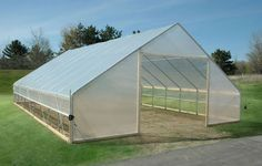 FieldPro Gable High Tunnel Package - Cold Frames & Hoop Houses