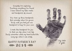 God bless {our} nest: Free Printable: Simple Father's Day Handprint Craf...