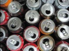 Placa solar casera con latas- Brico-Reciclaje-Reciclatge -Solar air heater (Beverage can recycling)