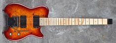 Carvin guitars hh2 | HH2X, burled maple (UM), sunsetburst (TU), flamed maple fingerboard ...