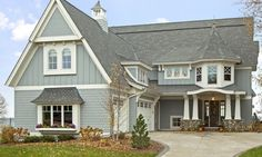 Lake House Orono Minnesota Stonewood Builders - love the architectural elements.