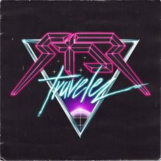 Star Traveler 80s-retro-futuristic logo by Overglow