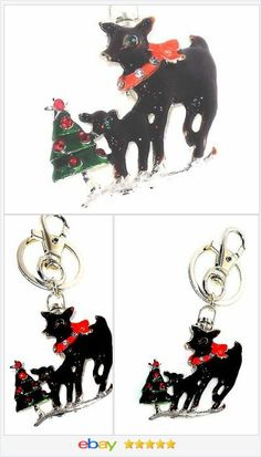 Reindeer Keychain CHRISTMAS IN JULY  #ebay #christmasinjuly http://stores.ebay.com/JEWELRY-AND-GIFTS-BY-ALICE-AND-ANN