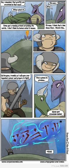 This made me laugh even though I love Skyrim