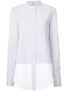 JIL SANDER Striped Shirt. #jilsander #cloth #shirt