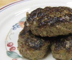 Best Meatballs Ever: Ukrainian/Russian Meat Patties (Cutleti) | Paleo, Gluten Free, Dairy Free