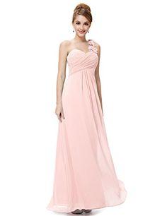 b1e6fe221d [Clearance Sale] Ever Pretty Elegant Women Bridesmaid Dresses A Line Chiffon  One Shoulder Formal Wedding Bridesmaid Dress