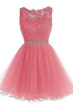 Elegant School Homecoming Dress