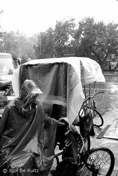 Rickshaw ride. Beijing, China