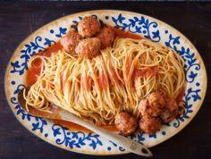 Lidia Bastianich's Spaghetti and Meatballs