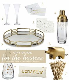 @Kristin Clark | Living In Color Print GUEST POST | GIFT GUIDE for the HOSTESS