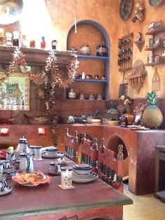 Original old Mexican Hacienda Kitchen