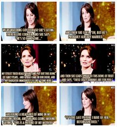 Stuff Tina Fey's daughter says.  I love Tina Fey, and this makes me think I would love her daughter too...