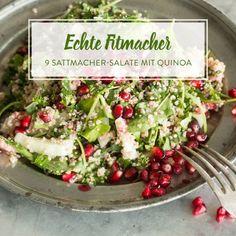 Thai-Quinoa-Salat mit Erdnuss-Ingwer-Dressing
