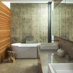 Wood Grain Concrete Design