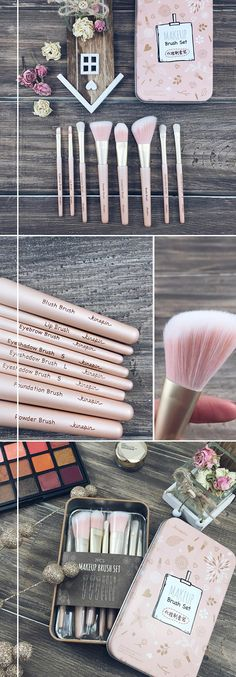 7 Piece Travel Glam Set With Case