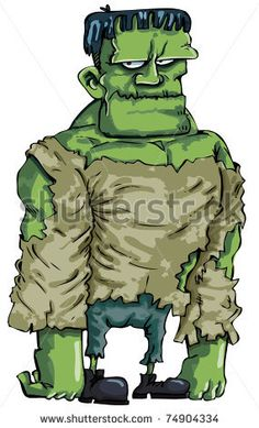 frankenstein monster cartoon - Google Search