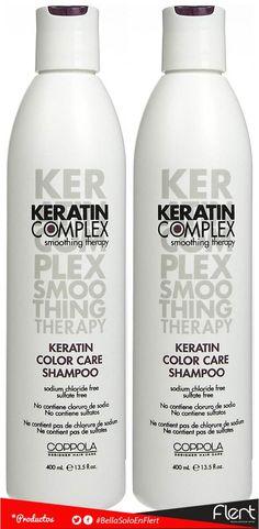 Cuidado del cabello con la linea de #KeratinComplex