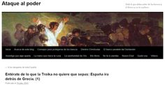 WEBSEGUR.com: ¿IRÁ ESPAÑA DETRÁS DE GRECIA?