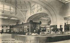 Limoges, la Gare : le Grand Hall - Bfm Limoges