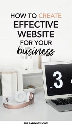 How to create a well-working website that drives more traffic and creates more leads? Learn all you need to know to create an effective website for your business! 6 website creation tips for small businesses #websitesetup #websitecreation #selfmadewebsite #websitetips #businesswebsite